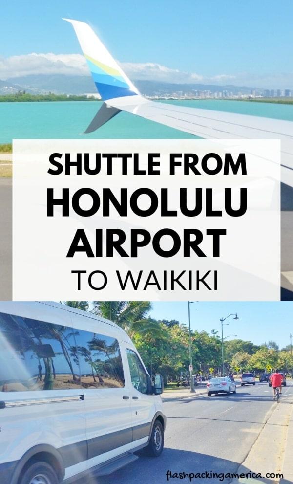 Honolulu Airport Shuttle To Waikiki Cost Hawaii Travel