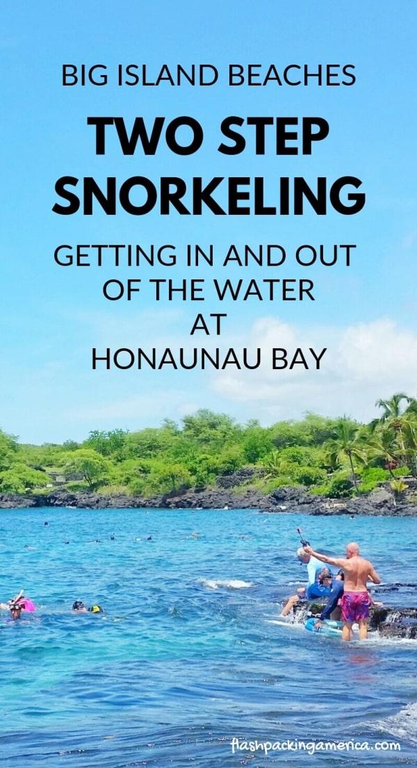 Two Step Beach Snorkeling In Kona