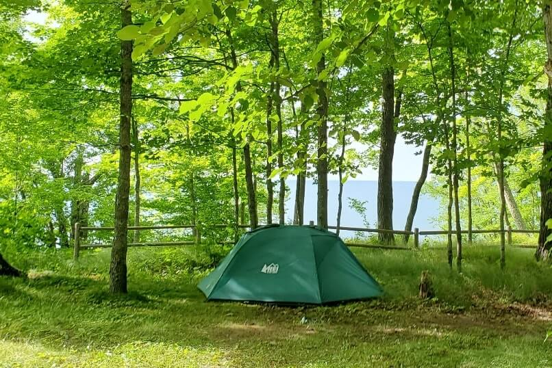Camping In Porcupine Mountains State Park Campgrounds And Cabins In The Porcupine Mountains Michigan Travel Blog Flashpacking America